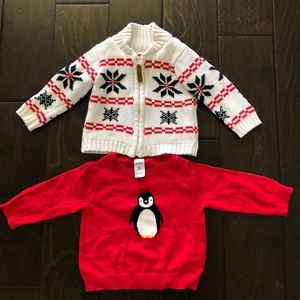 Baby boy Sweaters and hoodies- 3 Pack. Size- 6M
